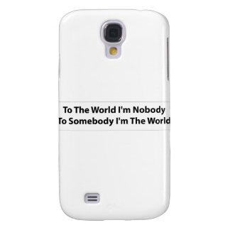 Coque Galaxy S4 Je suis quelqu'un