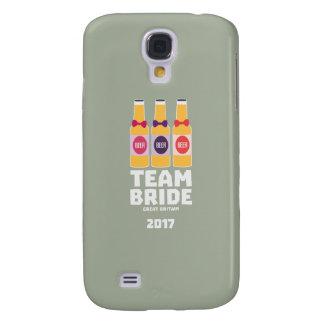 Coque Galaxy S4 Jeune mariée Grande-Bretagne d'équipe 2017 Zqqh7