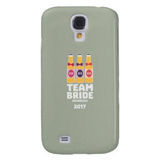 Coque Galaxy S4 Jeune mariée Indonésie d'équipe 2017 Z2j8u