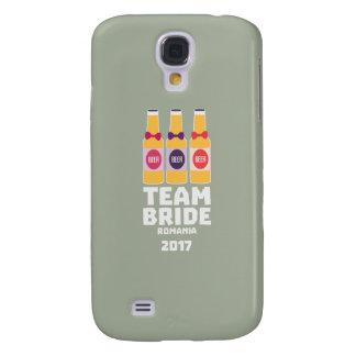 Coque Galaxy S4 Jeune mariée Roumanie d'équipe 2017 Zhg2u