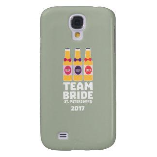 Coque Galaxy S4 Jeune mariée St Petersburg d'équipe 2017 Zuv92