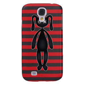 Coque Galaxy S4 Lapin rouge et noir de Goth