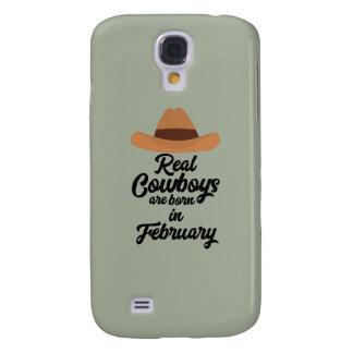 Coque Galaxy S4 Les vrais cowboys sont la fève en février Zi955