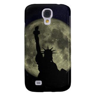 Coque Galaxy S4 Lune et Madame Liberty
