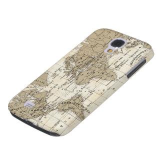 Coque Galaxy S4 Mappemonde