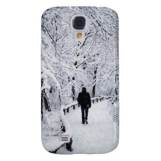 Coque Galaxy S4 Marche au pays des merveilles d'hiver