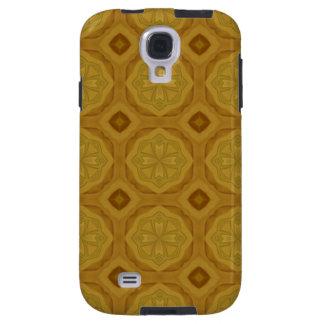 Coque Galaxy S4 Motif en bois géométrique abstrait