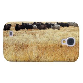 Coque Galaxy S4 Moutons dans l'herbe sèche