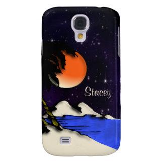 Coque Galaxy S4 Nuit d'île personnelle