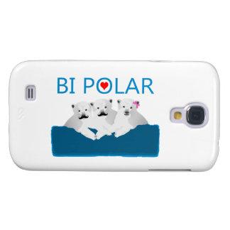 Coque Galaxy S4 Ours blancs de Bi