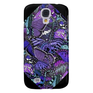 Coque Galaxy S4 Papillons pourpres