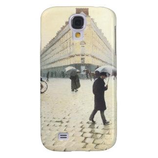 Coque Galaxy S4 Paris, sur un cas de l'iPhone 3 de jour pluvieux
