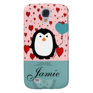 Coque Galaxy S4 Pingouin