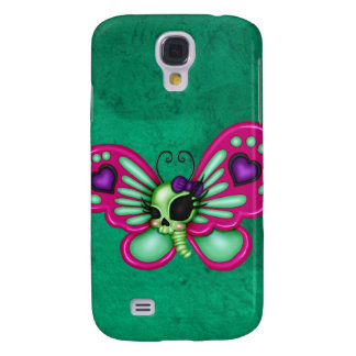 Coque Galaxy S4 Rétro papillon de zombi d'amusement