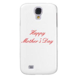Coque Galaxy S4 Rouge heureux du jour de mère les cadeaux de