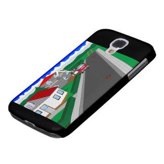 Coque Galaxy S4 Routes et construction