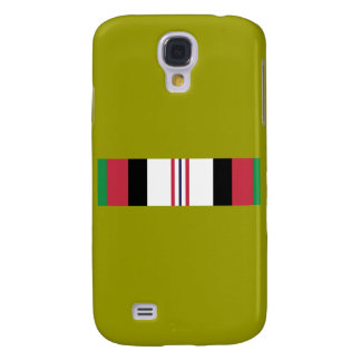 Coque Galaxy S4 Ruban militaire de campagne des USA Afghanistan