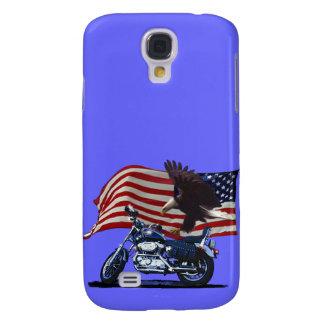 Coque Galaxy S4 Sauvage et libérez - Eagle patriotique, la