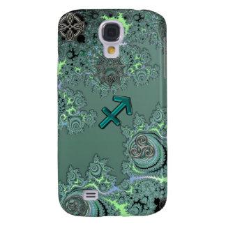 Coque Galaxy S4 Symboles verts de Celtic de Sagittaire de signe de