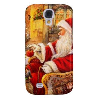Coque Galaxy S4 Traîneau de Père Noël - illustration du père noël