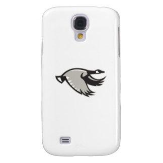 Coque Galaxy S4 Voler d'oie du Canada rétro