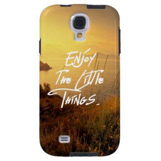 Coque Galaxy S4 Vue de mer de coucher du soleil de citation