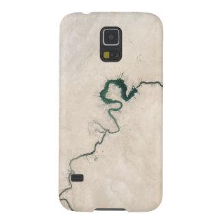 Coque Galaxy S5 Fente d'antenne de rivière de désert