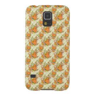 Coque Galaxy S5 Feuille d'automne tiré par la main