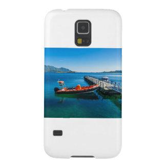 Coque Galaxy S5 Mâle d'atterrissage et bateau de vitesse
