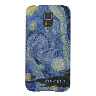 Coque Galaxy S5 Nuit étoilée Vincent van Gogh personnalisé