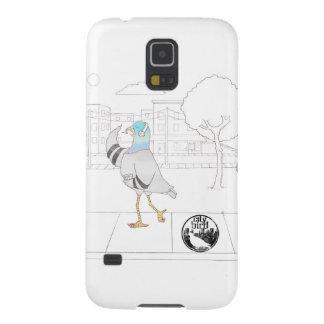Coque Galaxy S5 Oiseau de ville -- Cas de téléphone