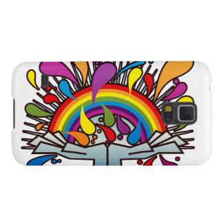 Coque Galaxy S5 Rainbow_In_Your_Hands