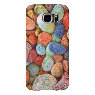 Coque Galets multicolores Galaxy S6