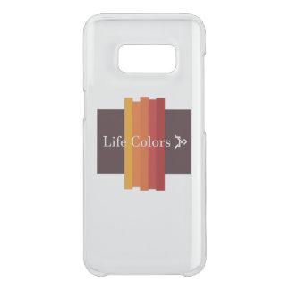 Coque Get Uncommon Samsung Galaxy S8 Couverture de couleurs de la vie de la galaxie S8