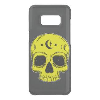 Coque Get Uncommon Samsung Galaxy S8 Crâne classique (jaune)