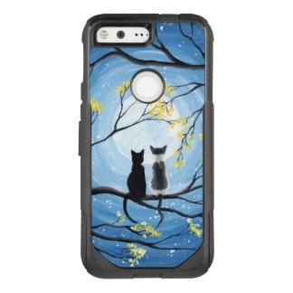 Coque Google Pixel Par OtterBox Commuter Lune lunatique avec des chats