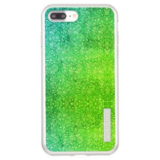 Coque Incipio DualPro Shine iPhone 8 Plus/7 Plus Vitalité colorée lumineuse florale verte au néon