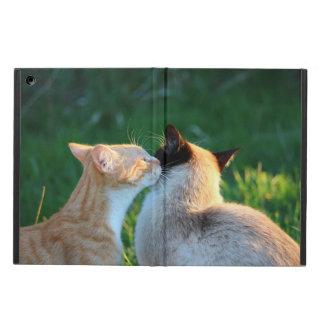 Coque iPad Air Amoureux de les chats