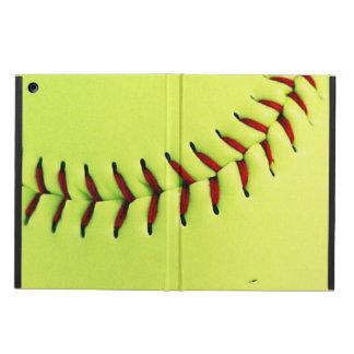 Coque iPad Air Boule jaune du base-ball