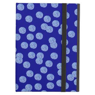 Coque iPad Air Caisse bleue d'air d'iPad de pois