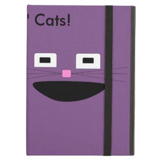 Coque iPad Air Caisse d'air d'Ipad de chats de n de singes