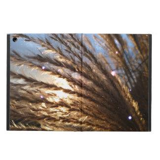 Coque iPad Air caisse d'air d'iPad sans la lumière d'or de blé de