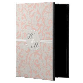 Coque iPad Air Collection de corail de mariage de SmartElegance