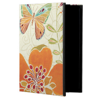 Coque iPad Air Floral et papillons