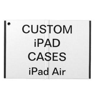 Coque iPad Air La coutume a personnalisé le blanc de caisse de