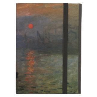 Coque iPad Air Lever de soleil d'impression par Claude Monet, art