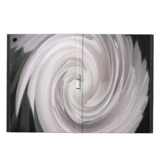 Coque iPad Air Pâle - abrégé sur remous de rose de rose