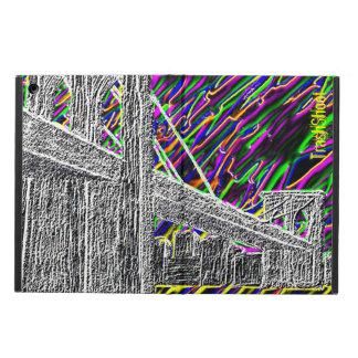 Coque iPad Air pont au néon de New York