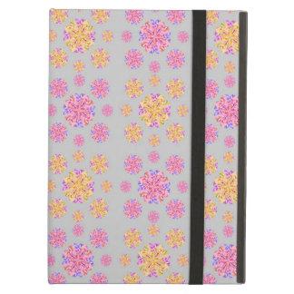 Coque iPad Air Rose et jaune