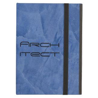 Coque ipad bleu toscan de Powis d'architecte
